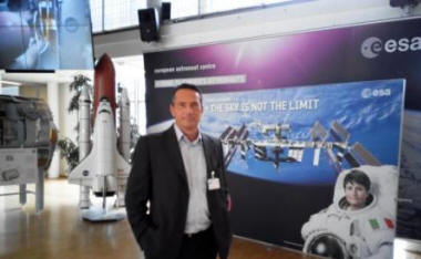 Daniele Trevisani at ESA Astronauts Training Headquarters